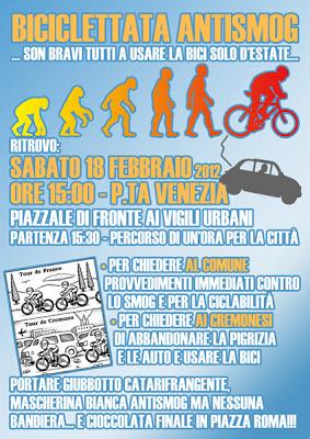 Biciclettata antismog