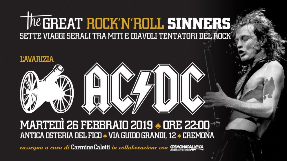 The Great RockNRoll Sinners • Lavarizia • ACDC
