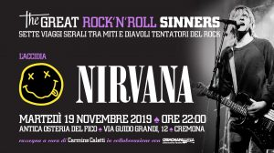 CremonapallozaThe Great RockNRoll Sinners • Laccidia • Nirvana