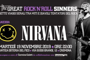 Cremonapalloza‎The Great RockNRoll Sinners • Laccidia • Nirvana