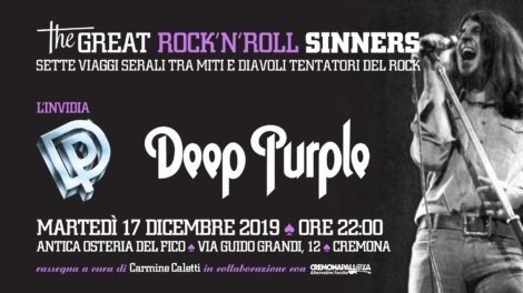 Cremonapalloza‎ The Great RockNRoll Sinners • Linvidia • Deep Purple