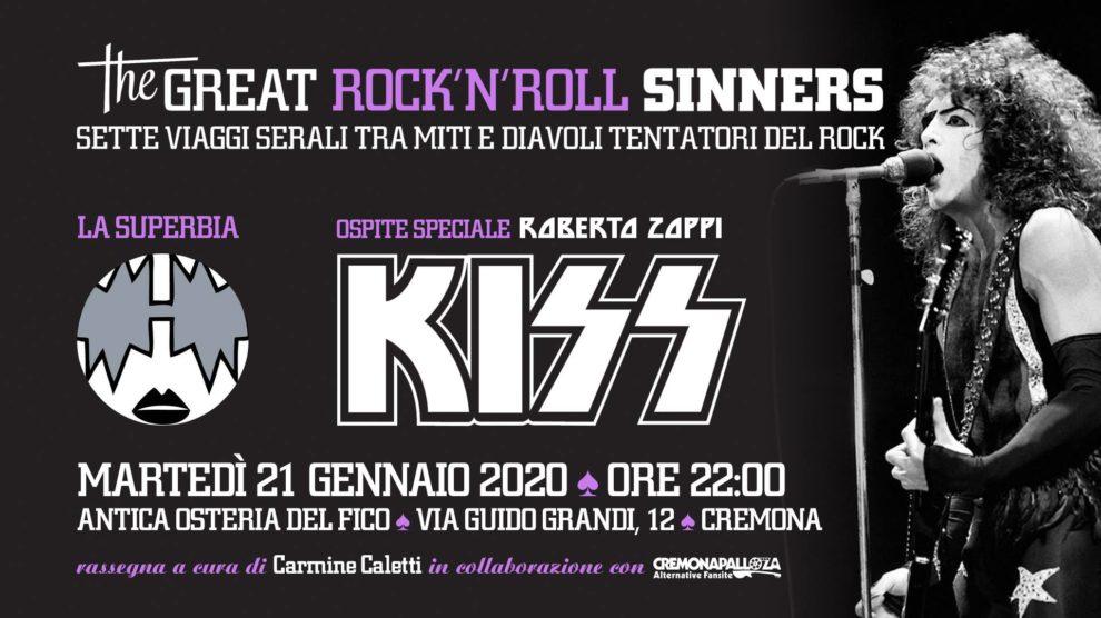 The Great RockNRoll Sinners • La superbia • Kiss