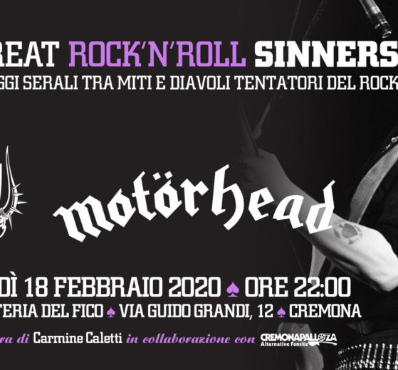 The Great RockNRoll Sinners • Lavarizia • Motörhead