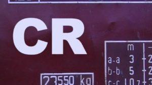82 5 m³ CR